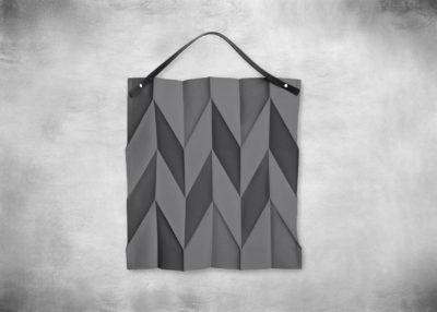 SP-I X I Bag 48x44cm dark grey