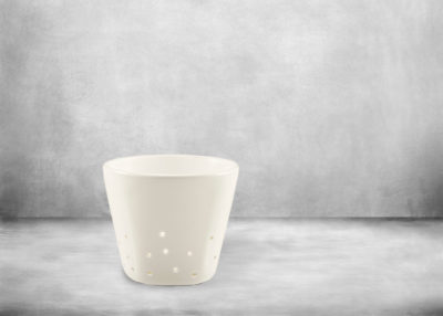 SP-I X I Tealight candleholder 70mm white
