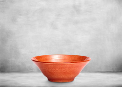 SP-Orange_small_bowl_flower_shape_70cl