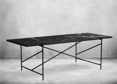 SP11-Dining Table 230 Black Marble Packshot PNG with shadow 2